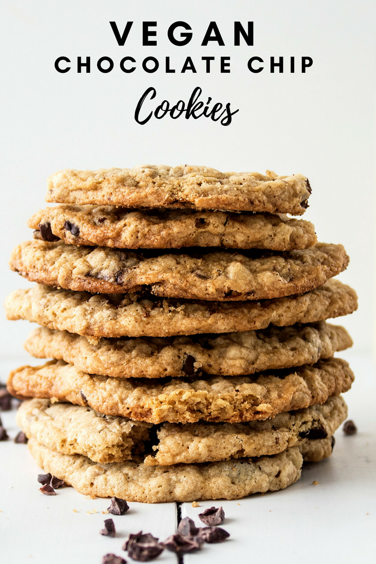 Vegan chocolate chip cookies gluten free, refined sugar free