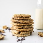 easy vegan gluten free nut free refined sugar free chocolate chip cookie