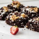 vegan gluten free peanut butter banana brownies