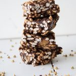 healthy vegan chocolate rice krispie treats